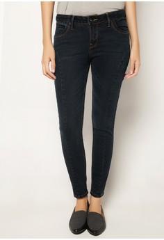 Licks Denim Leg Shaper Legging Jeans
