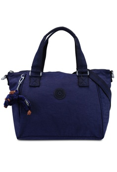b2cc088435 Kipling navy Amiel Top Handle Bag 59EC9AC46BA2A7GS 1