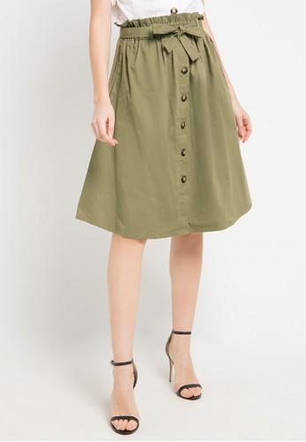 Seven Level green Sunny Skirt 1D58AAAB4A1930GS_1