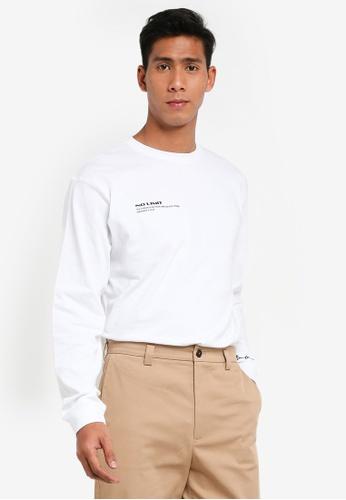 Mennace white No Limit T-Shirt EC6B8AA0916E95GS_1