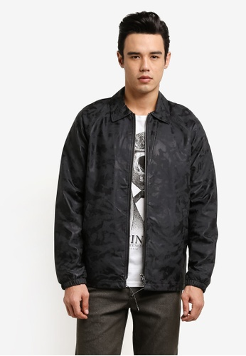 Only & Sons black Faux Leather Jacket ON662AA0RB5GMY_1