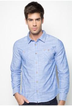 Slim Fit Checkered Shirt