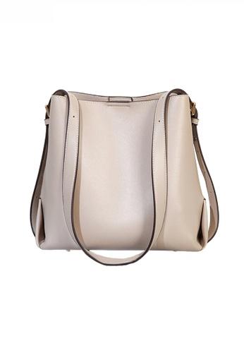 Twenty Eight Shoes beige Trendy Faux Leather Three-Way Handbag JW CL-C5236 B1B1FAC135E140GS_1