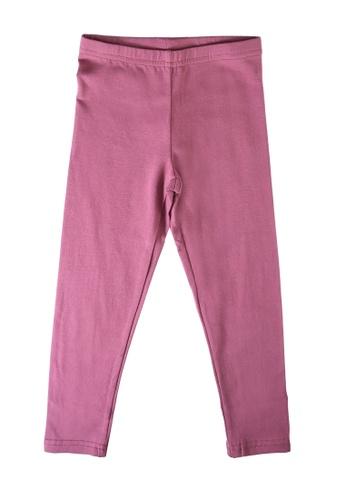 FOX Kids & Baby pink Kids Girl Plain Leggings CAF4FKA8999B86GS_1