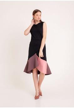4dd0f9eb1d10d The Scarlet Room black Pamela Mermaid Dress in Black 59A45AAE7813D8GS_1