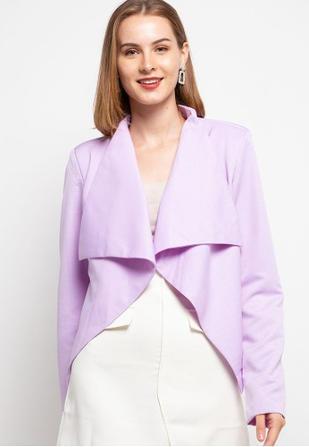 LLACES CLOTHING purple Waterfall Jacket 4FFCFAA7D16739GS_1