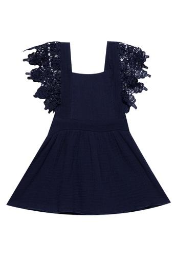 RAISING LITTLE blue Darla Lace Detail Dress B54B3KADB1B8C0GS_1