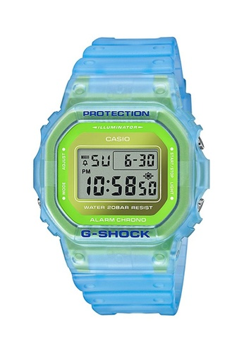 G-shock yellow and blue CASIO G-SHOCK DW-5600LS-2 6BF85AC2A0342AGS_1