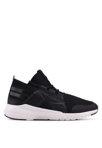 North Star black Mesh Sneakers C4C14SHEADC648GS_1