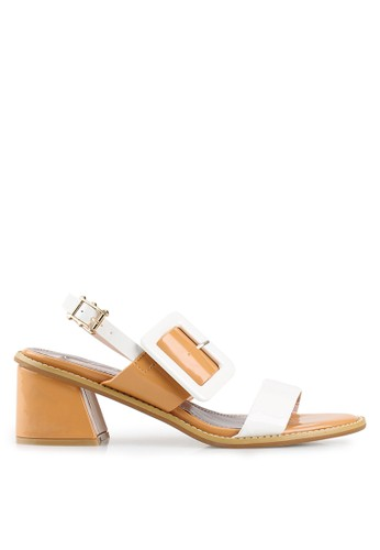 Mandy's white Mandy's Olive White Heels MA947SH52CSDID_1