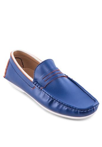 撞色方頭樂福鞋, 鞋esprit香港分店, 鞋