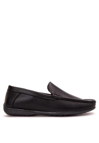 Itti black Loafers & Moccasins IT425SH60RWLPH_1
