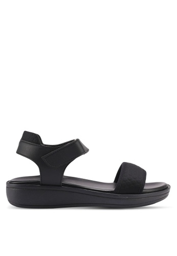 Bata black Janaya Sandals D0219SHE23E2C3GS_1