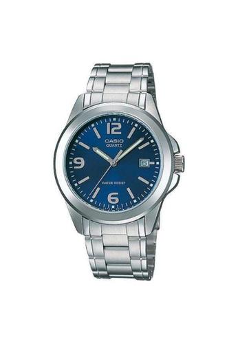 CASIO silver CASIO GENERAL MTP-1215A-2ADF UNISEX'S WATCH 7797BAC903C1BFGS_1