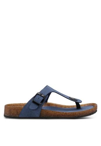Bata blue Bata Casual Sandals 0B718SH99F7B51GS_1