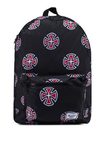 Herschel black Packable Backpack C244DACF90DC7DGS_1