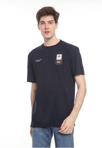 bloop blue Bloop Tshirt Box Navy - BLP-TC005 EB921AA95C9792GS_1
