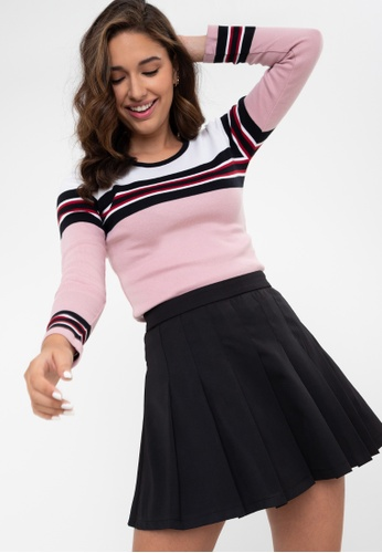 Blued pink Quyen Pullover 604ABAAF5413A8GS_1