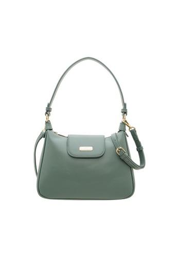 Valentino Creations green and blue Valentino Creations Tracy Handbag 848ECAC406CE36GS_1