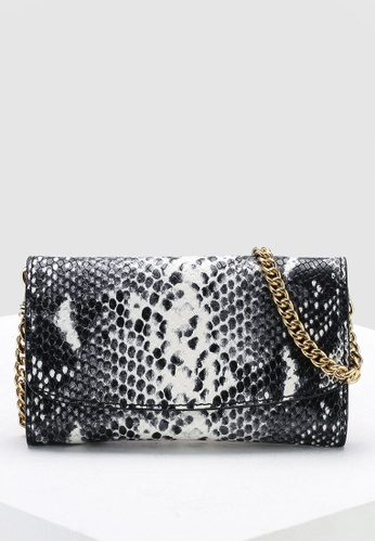 130efc4c8922 Banana Republic black Snake Print Phone Bag 29100AC2188D8FGS 1