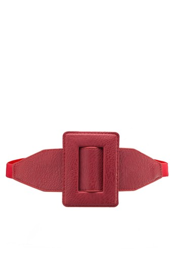 esprit 旺角超大方形扣環腰帶, 飾品配件, 腰封