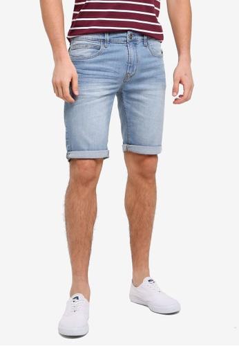 Indicode Jeans blue Kaden Denim Shorts ECF7BAA2E2C947GS_1