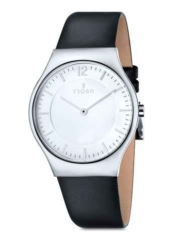 OLLE 雙esprit outlet尖沙咀指針皮革錶, 錶類, 皮革錶帶