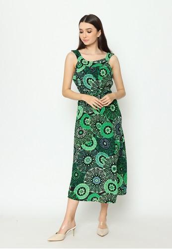 Cynthia green Cynthia New Collection Vol 1 Halter Neck Maxi Dress - Green 135F6AAF830A67GS_1