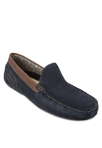 Norway 方頭麂esprit tw皮莫卡辛鞋, 鞋, 鞋