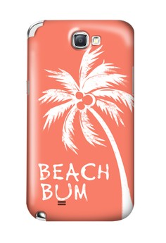 Beach Bum Matte Hard Case for Samsung Galaxy Note 2