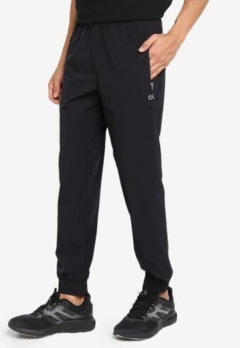 CALVIN KLEIN black Statement Essentials Woven Zip Pants E287DAA9B409C7GS_1