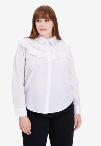 Trendyol white Ecru Shirt 09502AAA1447AEGS_1