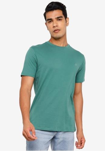 Springfield green Basic Logo T-Shirt C45A2AA780B8DDGS_1