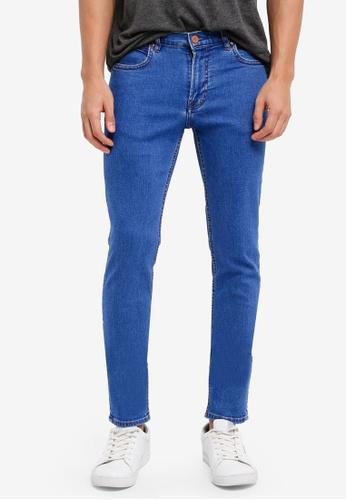 MANGO Man 藍色 修身牛仔褲 BA9EAAA62928B4GS_1