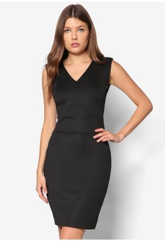 Collection V Neck Pencil Dress