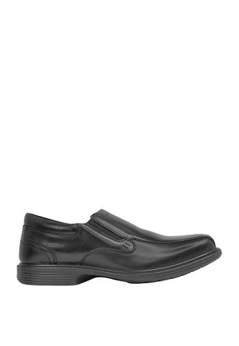 Hush Puppies black Note Dress Casual Shoes HU326SH0J3XFPH_1
