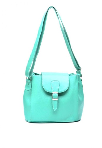 House of Bai green Addie Phyton Shoulder Bag A HO716AC0K2TJPH_1