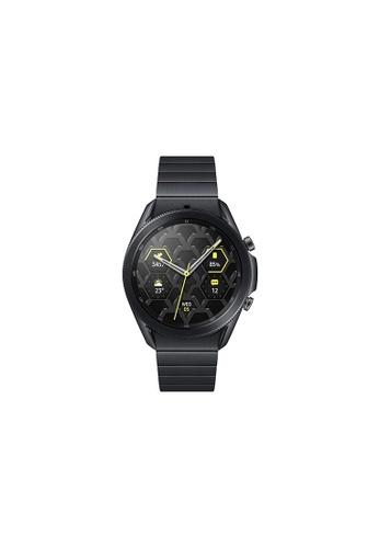 Samsung black Samsung Galaxy Watch3 Bluetooth (45mm) Titanium Mystic Black. 8C657HLFAF3B00GS_1