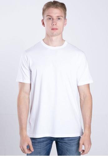 Diesel white T-DIAMANTIK MAGLIETTA T-Shirt FF760AAF705514GS_1