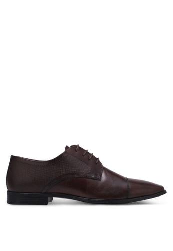 Burton Menswear London brown Kelmarsh Brown Formal Shoes BU964SH0RZGWMY_1