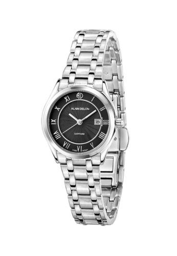 Alain Delon silver Alain Delon Women AD341-2331 Silver Stainless Steel Watch 32405AC05B8EFBGS_1