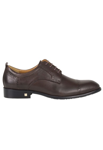 Tomaz brown Tomaz F188 Lace Up Formal (Coffee) B8EBASHD2E91ADGS_1