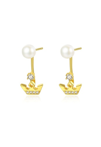A.Excellence white Premium White Pearl Elegant Earring 36AC6ACBF48865GS_1