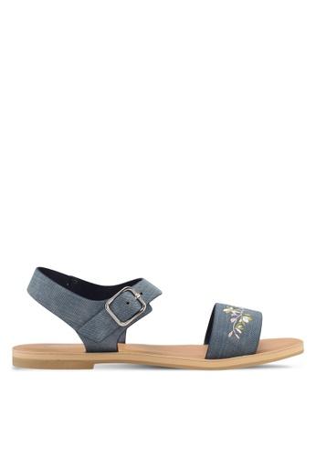 Bata 藍色 Bata Women Sandals 58C38SHA60AE58GS_1