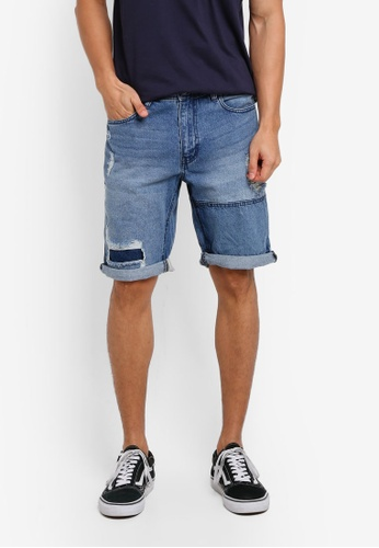 Cotton On 藍色 Roller Shorts C294CAAA975D49GS_1