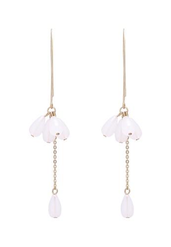 Saturation multi Snow Flower Drop Earrings 0A718AC8C7BBE2GS_1