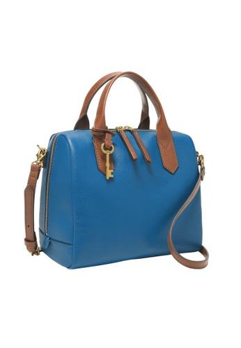 Fossil blue Fiona Satchel Bag ZB7268965 00935AC722CBBCGS_1
