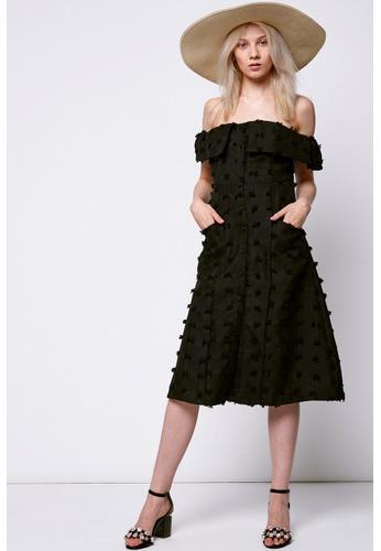 Storets black Silena Off-the-Shoulder Dress ST450AA0G6IFSG_1