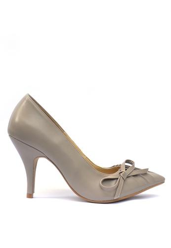 KHAS grey Khas High Heels Pumps Grey 9AB8FSHBCAB632GS_1
