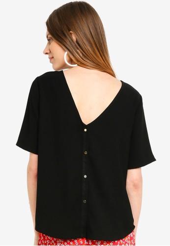 Vero Moda black Vicky Top E41C8AA8E26979GS_1